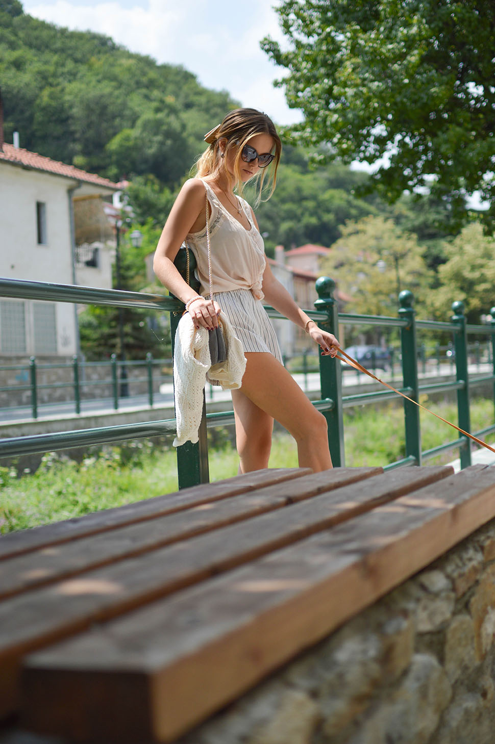 Casual Sunday in Florina Town by Tamara Bellis