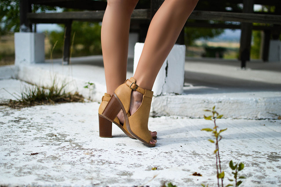 Chamomile and Ankle Boots by Tamara Bellis