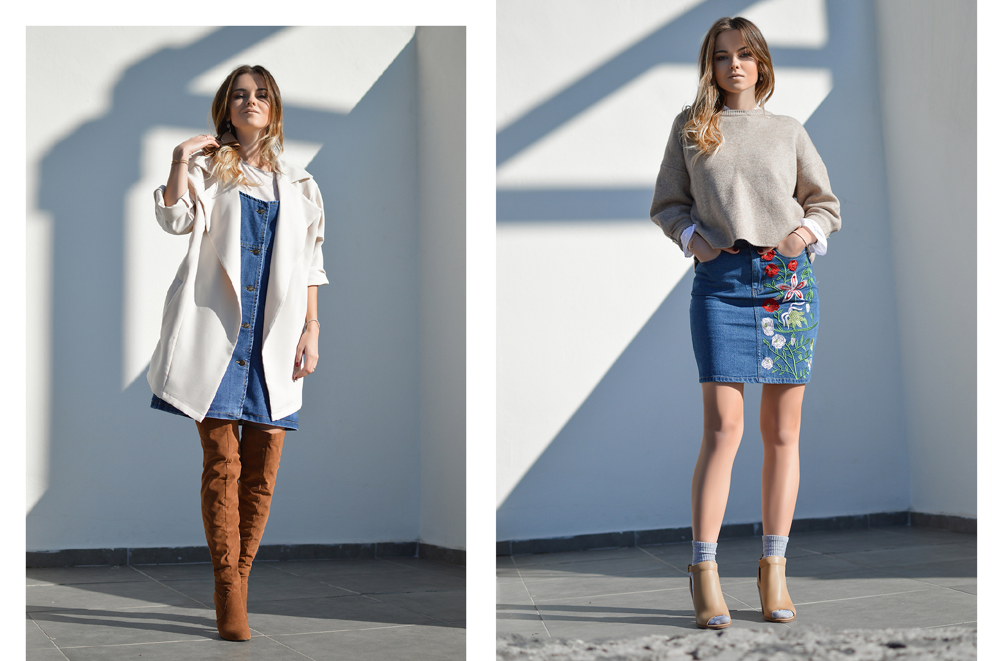Denim for Winter by Tamara Bellis
