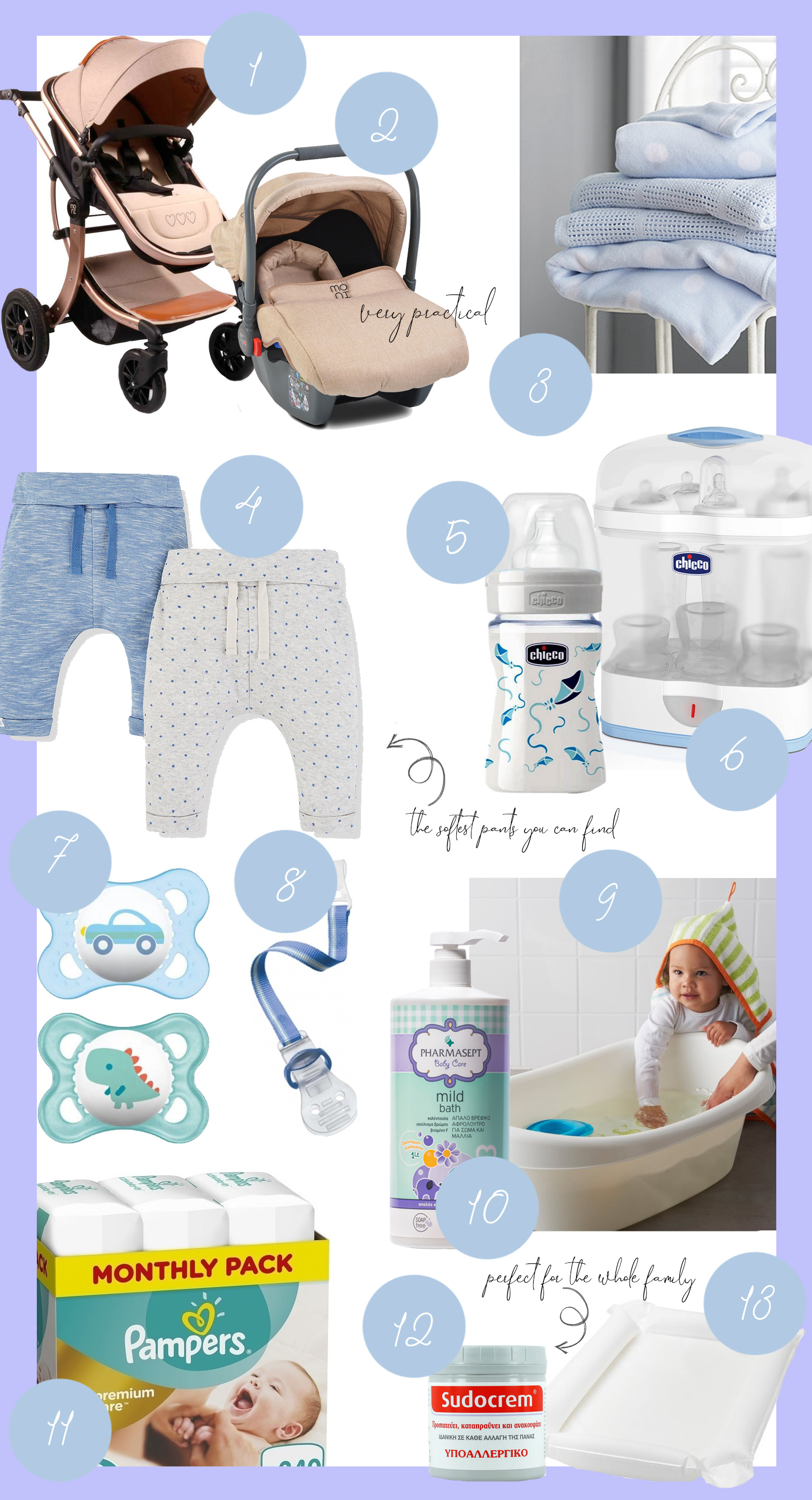 Our Baby Essentials List - Fashion & Lifestyle Blog by ...